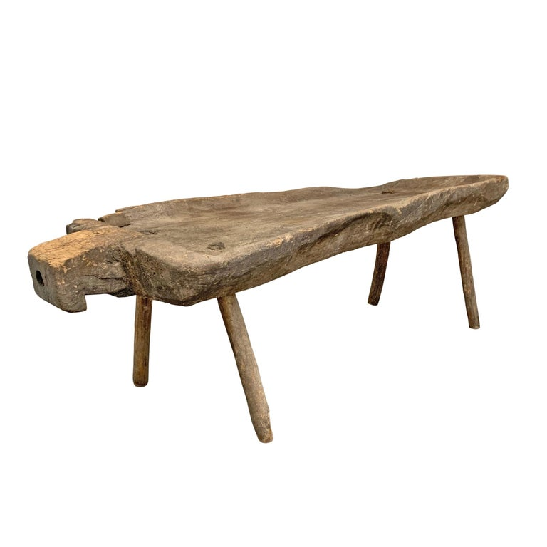 Wood 19th Century Belgian Sanglier Table For Sale