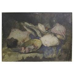 19th Century Jules Hubert Brouwers Belgian Still Life Painting