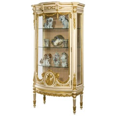 19th Century 'Belle Epoque' China Cabinet