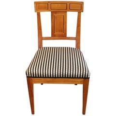 19th Century Biedermeier Cherry Chair