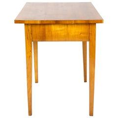 19th Century Biedermeier Cherrywood Side Table