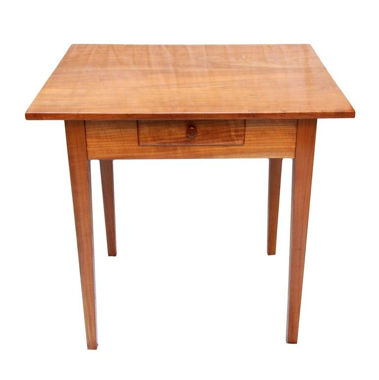 19th Century Biedermeier Cherrywood Side Table For