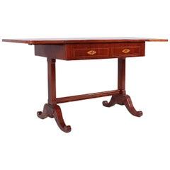 19th Century Biedermeier Desk, Writing Table, Mahogany, Berlin, circa 1835