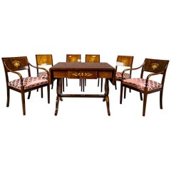 19thCentury Biedermeier Living Room Set