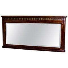 19th Century Biedermeier Mahogany Mirror
