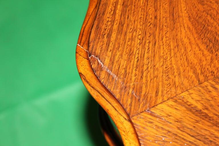 German 19th Century Biedermeier Rosewood Work Table For Sale