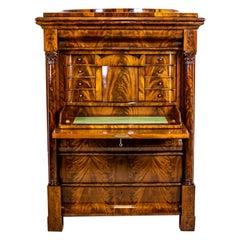 19th-Century Biedermeier Secretary Desk