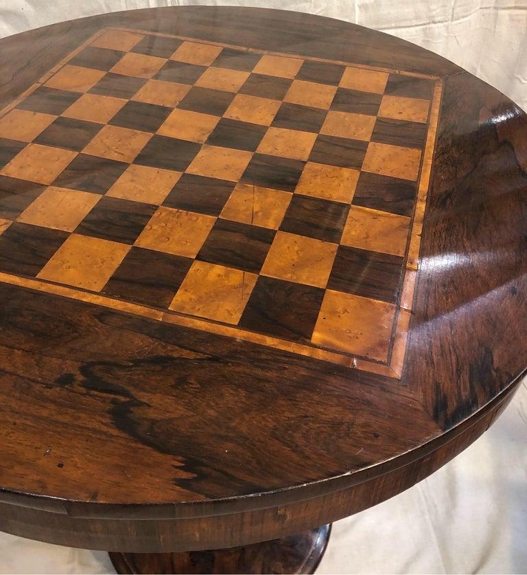European 19th Century Biedermeier Side Table For Sale
