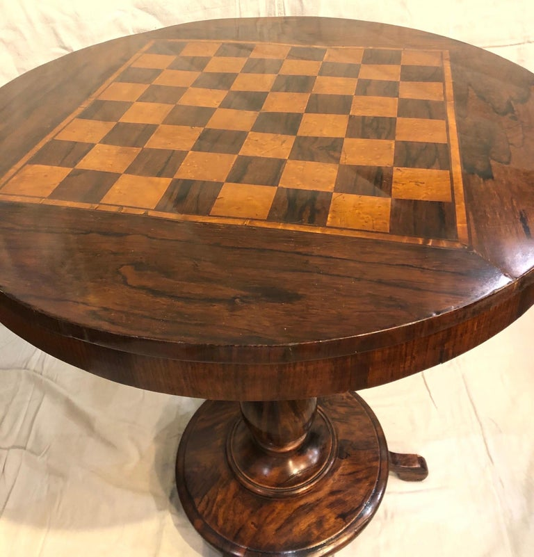 19th Century Biedermeier Side Table In Good Condition For Sale In Charleston, SC