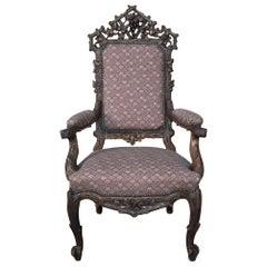 19th Century Black Forest Armchair