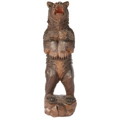 19th Century Black Forest Bear