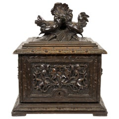 19th Century Black Forest Carved Tantalus