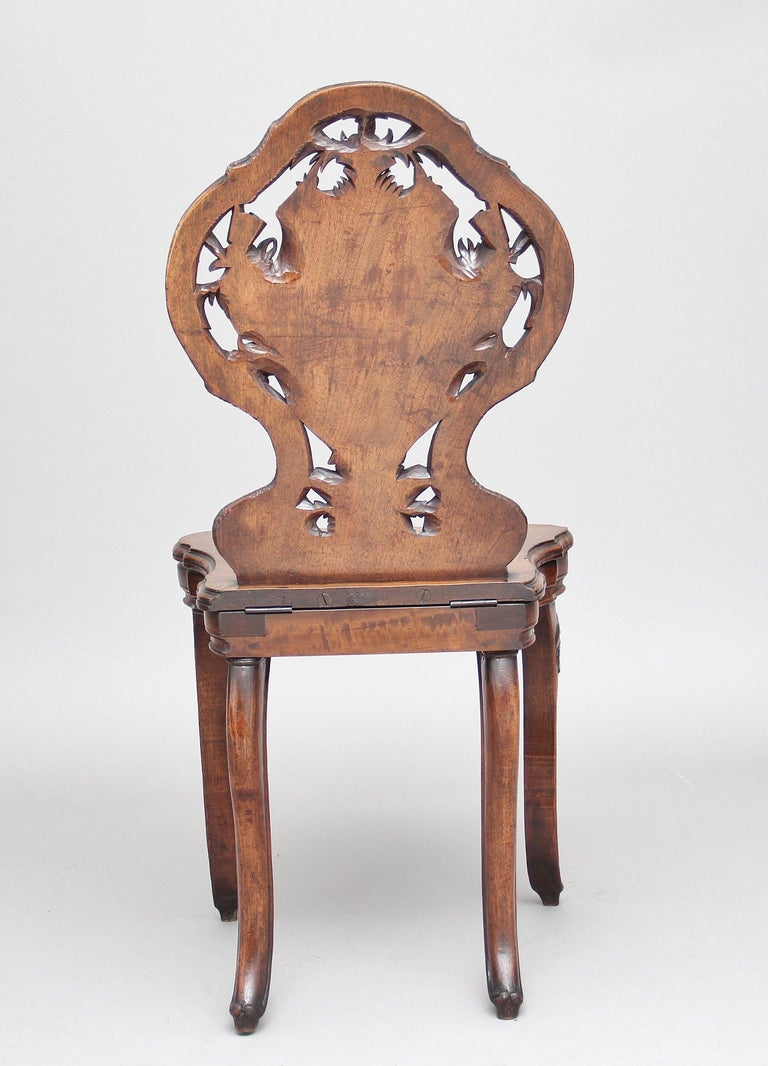 Swiss 19th Century Black Forest Musical Chair