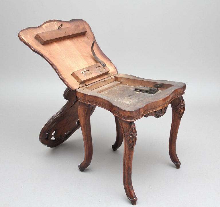 19th Century Black Forest Musical Chair 1