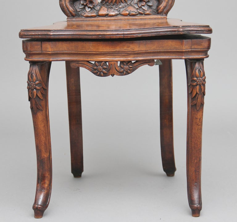 19th Century Black Forest Musical Chair 3