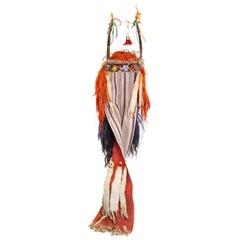 19th Century Blackfeet Split Horn Headdress