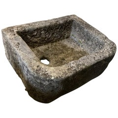 19th Century Bluestone Sink