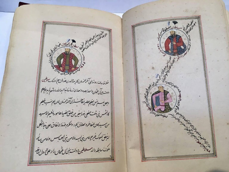 Other 19th Century, Book of Ottoman Sultan's  For Sale
