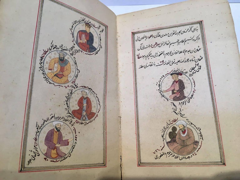 Persian 19th Century, Book of Ottoman Sultan's  For Sale
