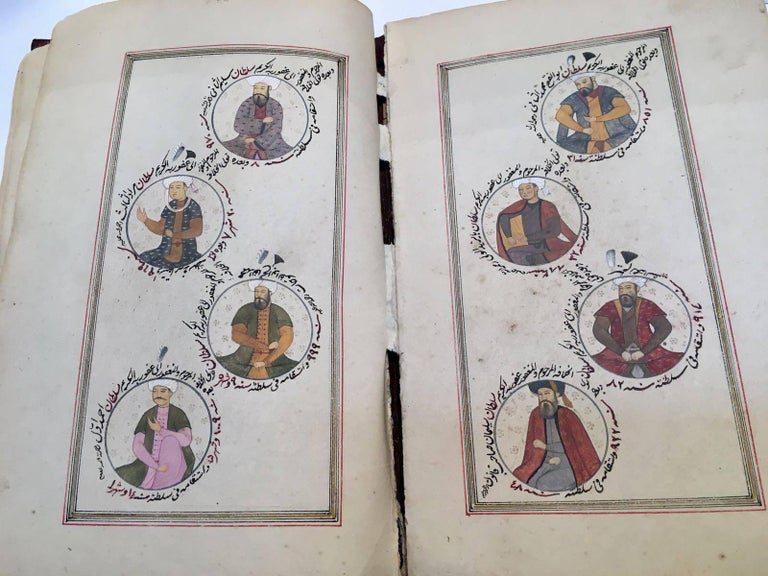 Paint 19th Century, Book of Ottoman Sultan's  For Sale