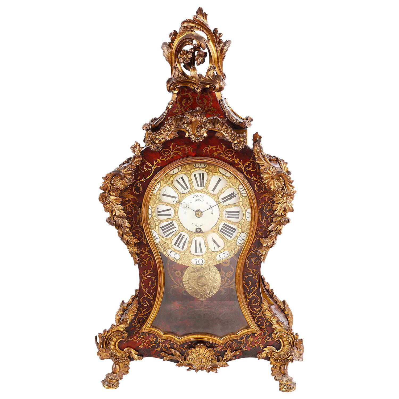 19th Century Boulle Mantel Clock