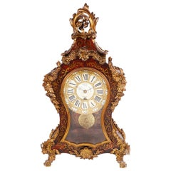 19th Century Boulle Mantel Clock