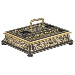 19th Century Boulle Style Table Desk
