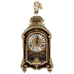 19th Century Boulle Type Mantel Clock