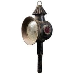 19th Century Brass Chariot Lantern