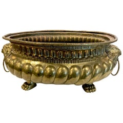 19th Century Brass Planter