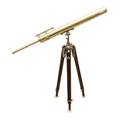 19th Century Brass Telescope