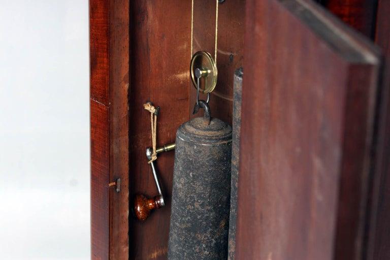 19th Century British Grandfather Clock, Longcase, Mahogany, Scotland circa 1825 For Sale 5
