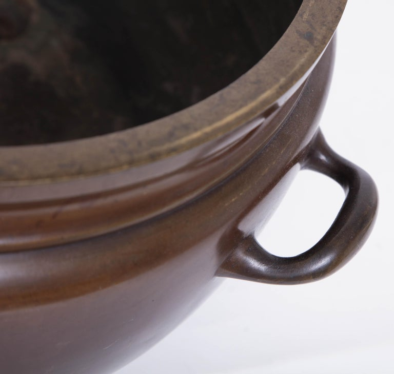 19th Century Bronze Bowl For Sale 1
