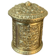 19th Century Bronze French Humidor