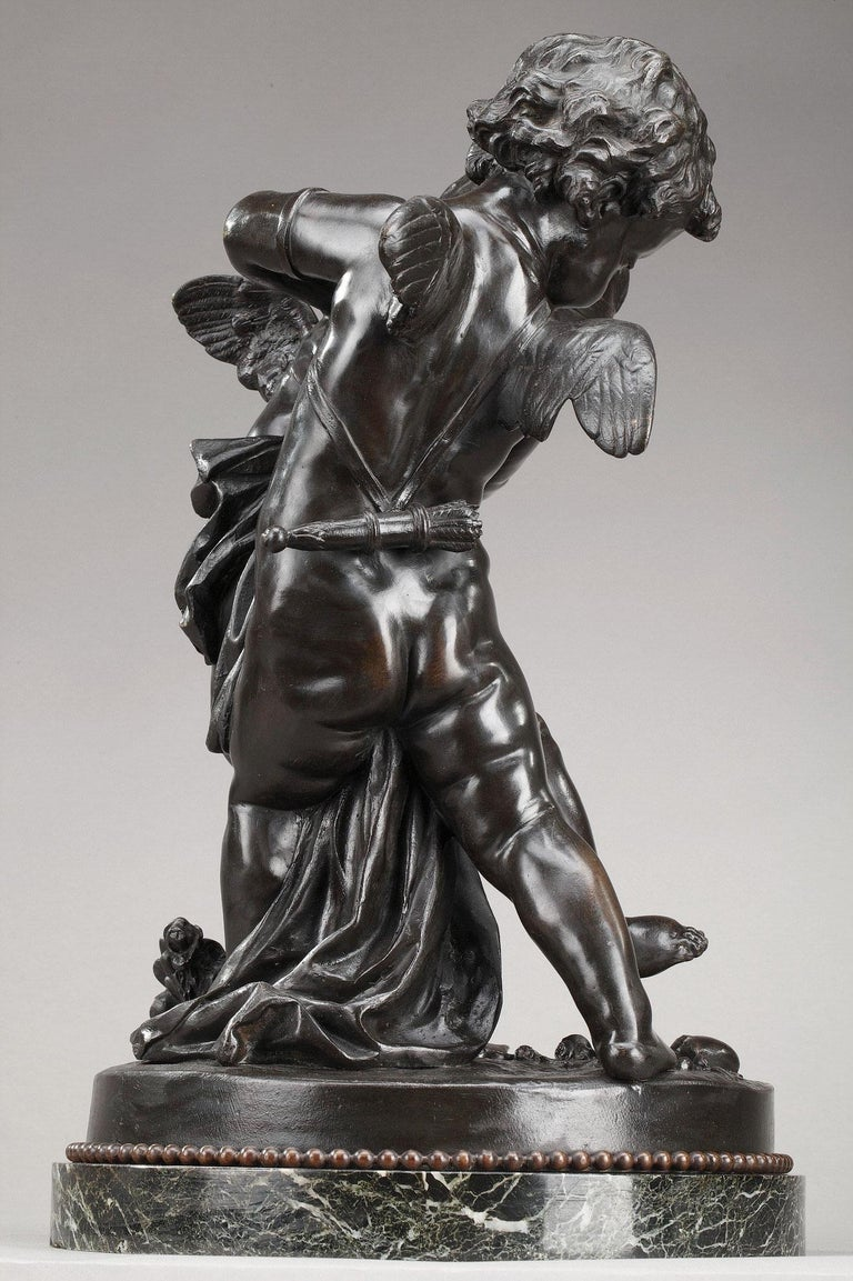 19th Century Bronze Group After Falconet For Sale 2