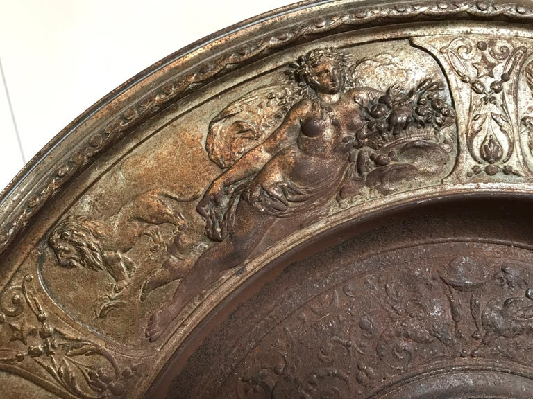 19th Century Bronze Plate on Acrylic For Sale 2