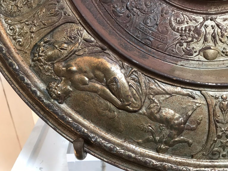 19th Century Bronze Plate on Acrylic For Sale 5