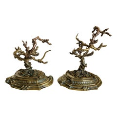 19th Century Bronze Ring Holder from France