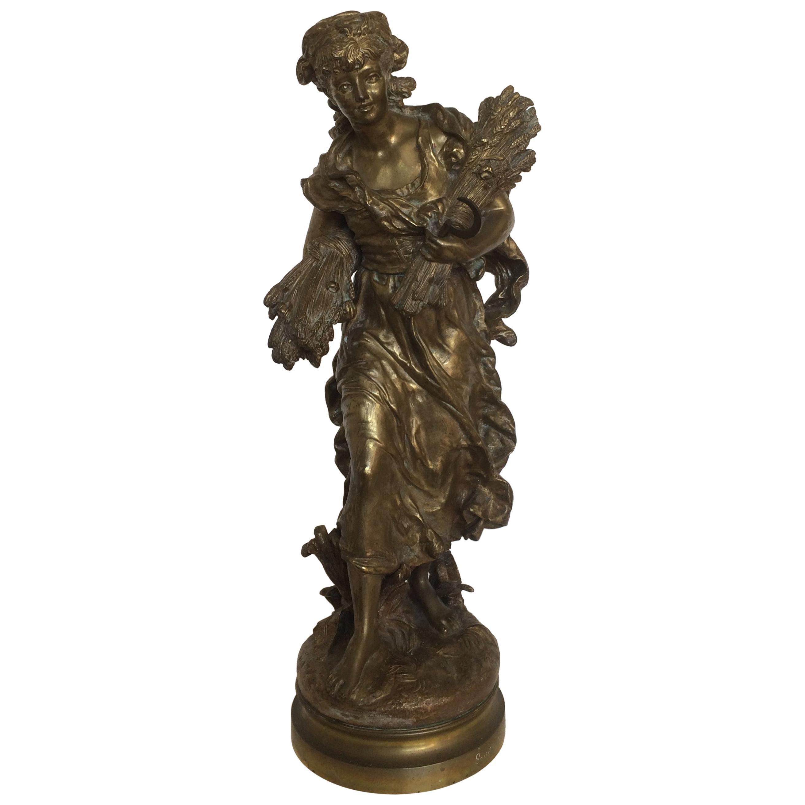 19th Century Bronze Sculpture by Hippolyte Moreau