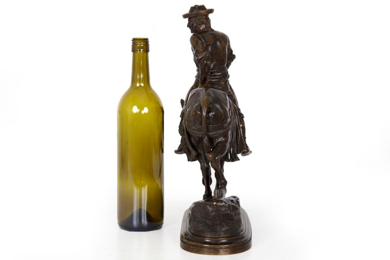 19th Century Bronze Sculpture of a Spanish Rider by Isidore Bonheur For Sale 6
