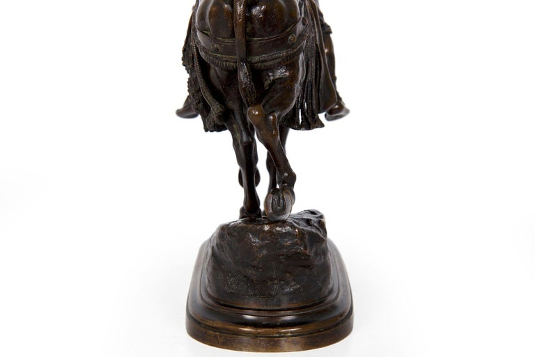 19th Century Bronze Sculpture of a Spanish Rider by Isidore Bonheur For Sale 8