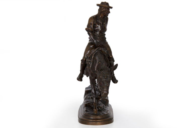 19th Century Bronze Sculpture of a Spanish Rider by Isidore Bonheur For Sale 14