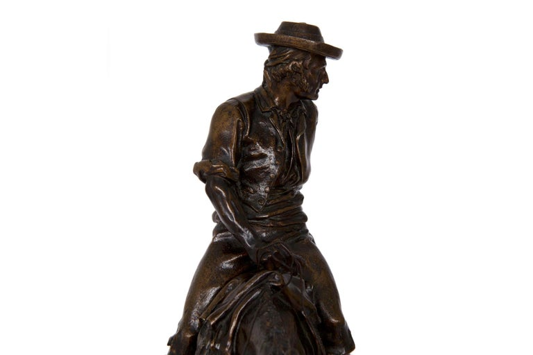 19th Century Bronze Sculpture of a Spanish Rider by Isidore Bonheur For Sale 15