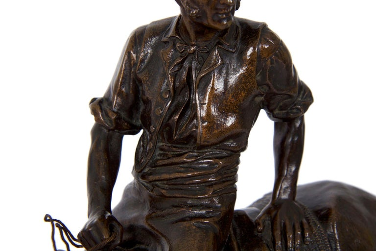 19th Century Bronze Sculpture of a Spanish Rider by Isidore Bonheur For Sale 3