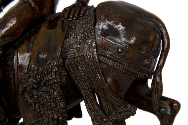19th Century Bronze Sculpture of a Spanish Rider by Isidore Bonheur For Sale 5