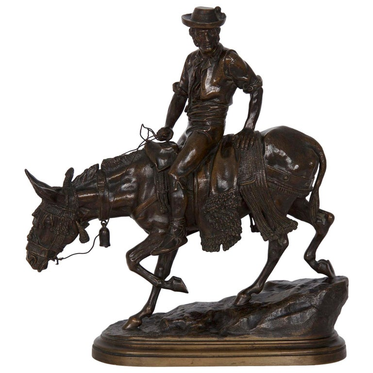 19th Century Bronze Sculpture of a Spanish Rider by Isidore Bonheur For Sale