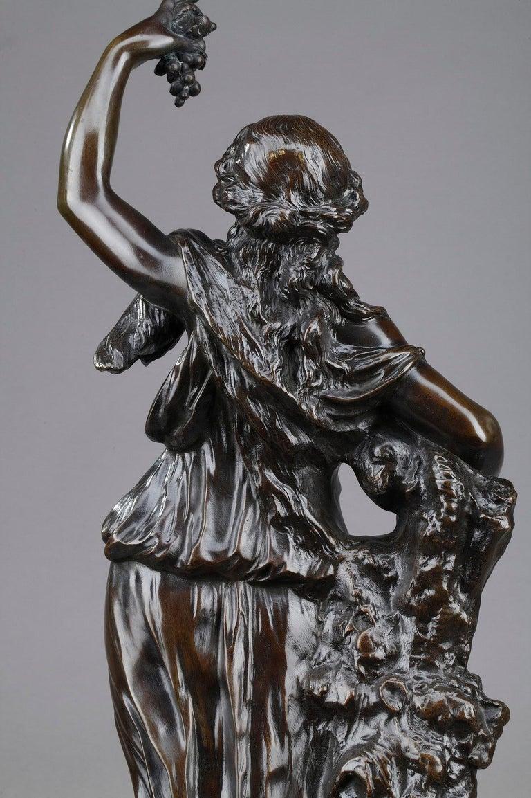 19th Century Bronze Statue: Bacchante For Sale 5