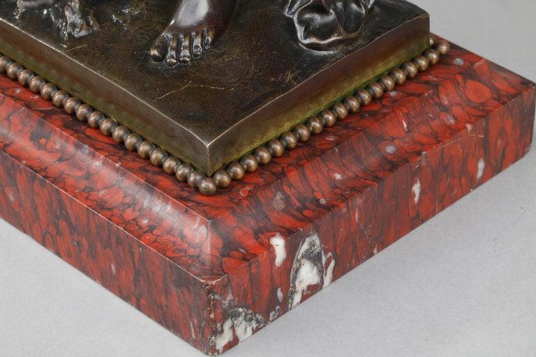 19th Century Bronze Statue: Bacchante For Sale 11