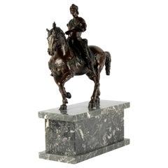 19th Century Bronze Statue of Bartolomeo Colleoni