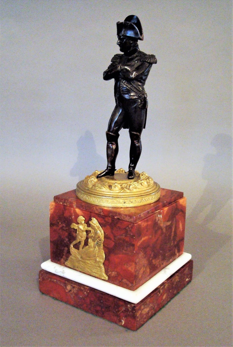 French 19th Century Bronze Statue of Napoleon Bonaparte For Sale
